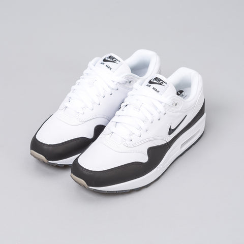 Nike Air Max 1 Premium in White/Black - Notre