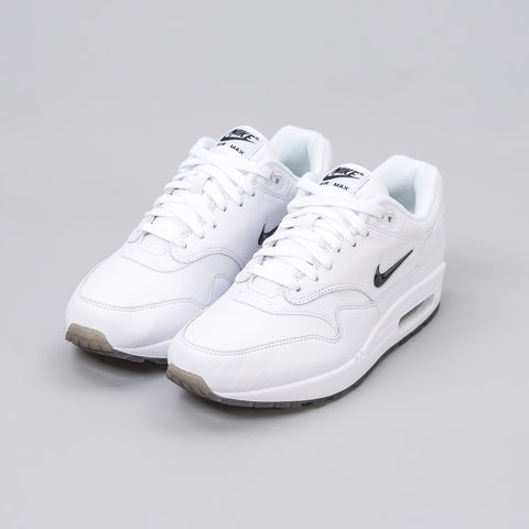 Nike Air Max 1 Premium SC Jewel in White/Black - Notre