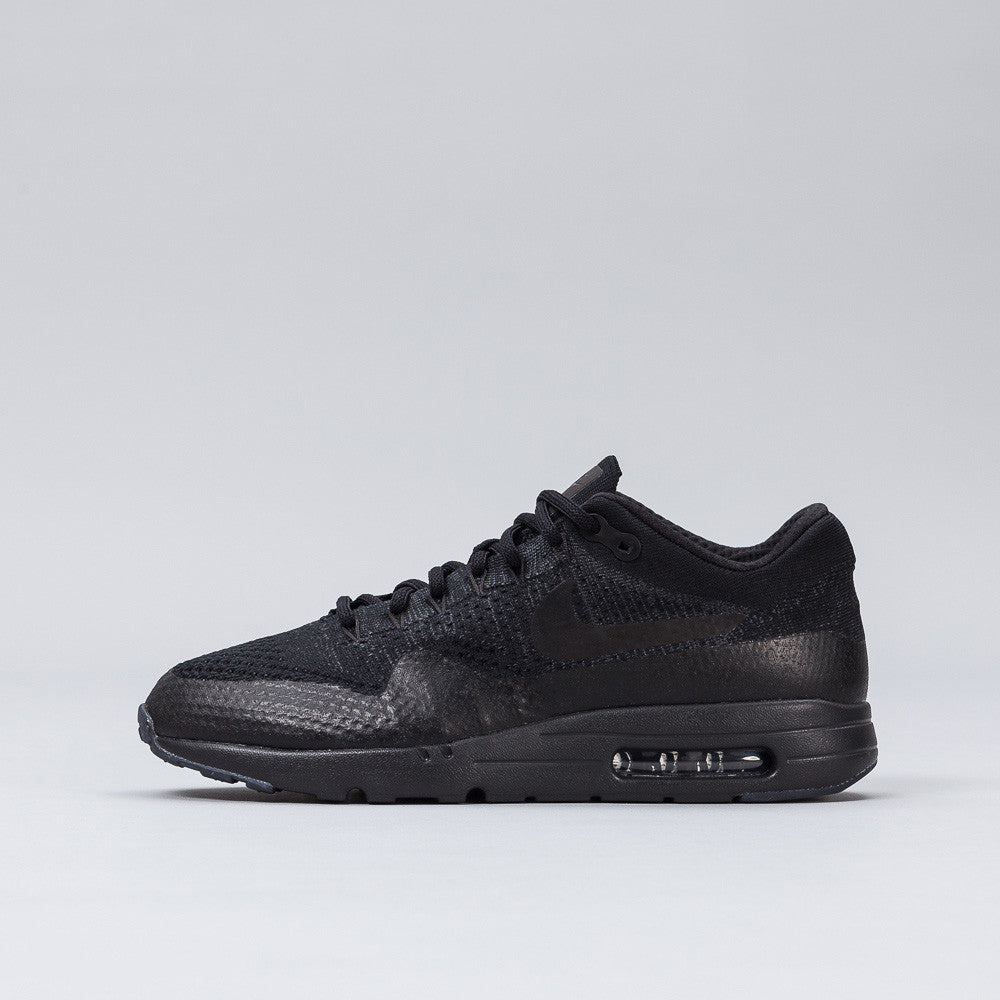 Nike - Air Max 1 Ultra Flyknit in Black - Notre - 1