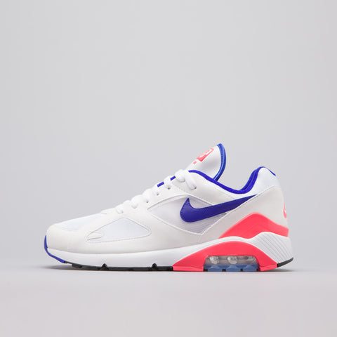 Nike Air Max 180 in White/Ultramarine/Red - Notre