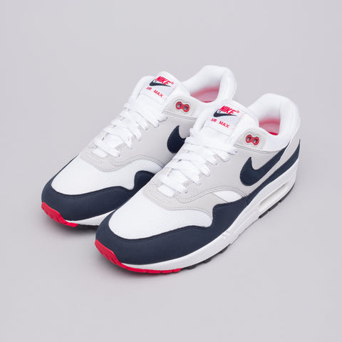 Nike Air Max 1 Anniversary in White/Dark Obsidian - Notre