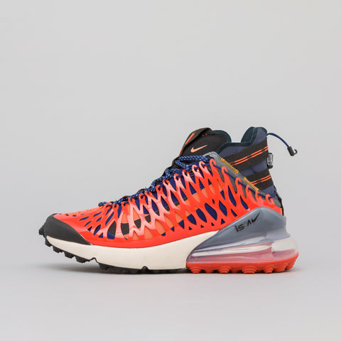 Nike Air Max 270 ISPA in Terra Orange/Blue Void - Notre