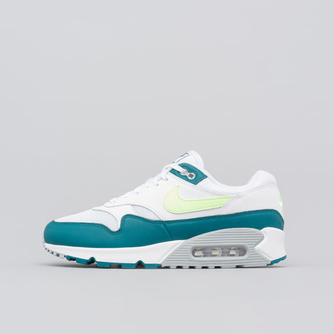 Nike Air Max 90/1 in White/Lime - Notre