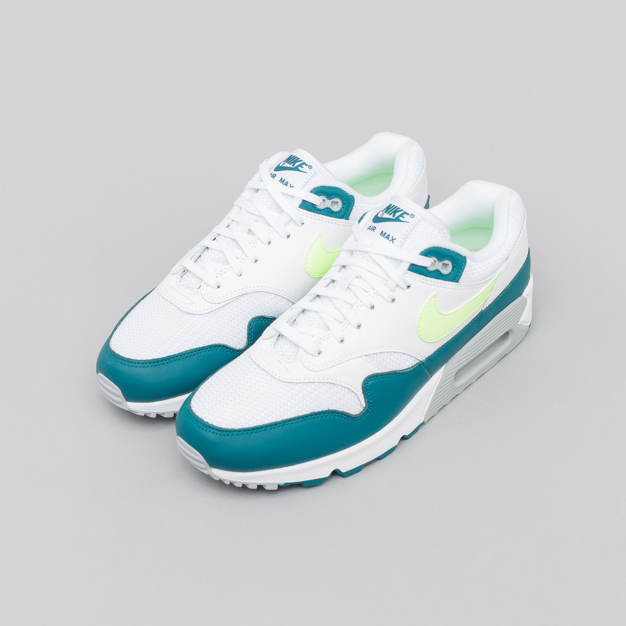 01fa19736a ... where to buy air max 90 1 in white lime 87f05 47c01