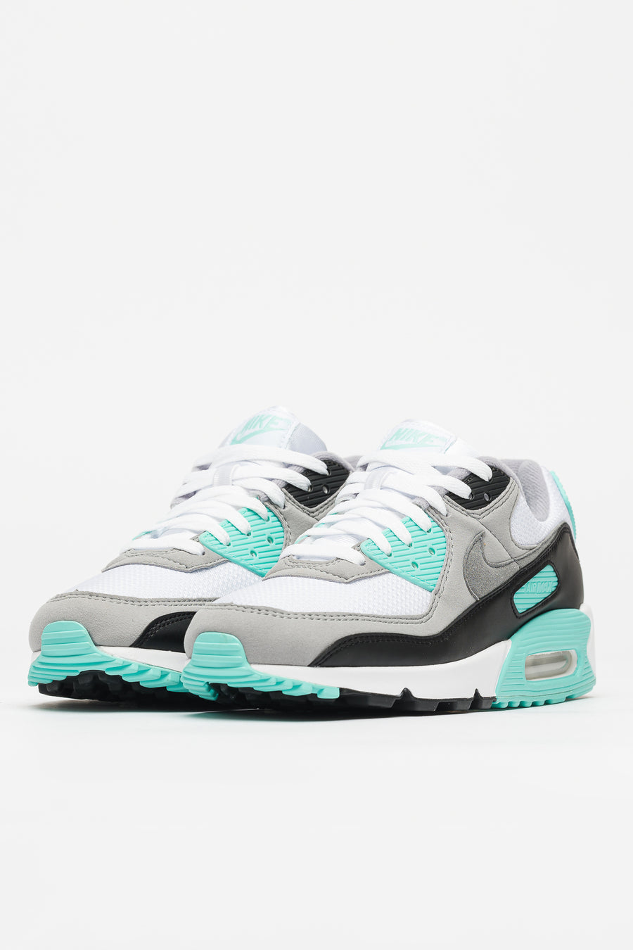 Air Max 90 in WhiteGreyTurquoise