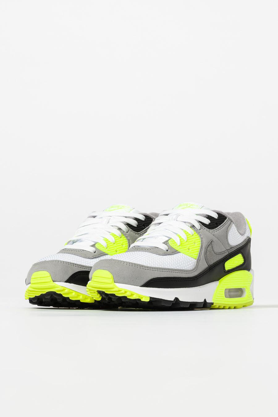 Air Max 90 in WhiteGreyVoltBlack