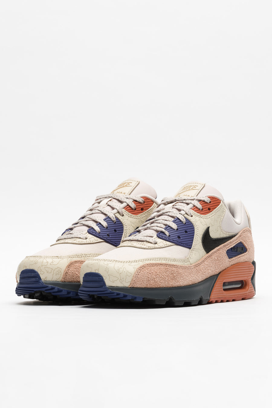 Nike Air Max 90 NRG in Desert Sand/Black/Rust - Notre