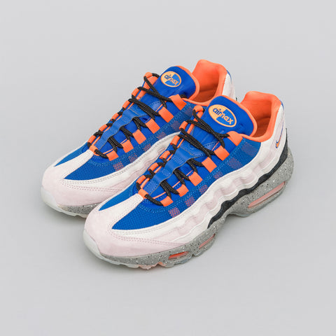 Nike Air Max 95 in Champagne/Royal Blue/Orange - Notre