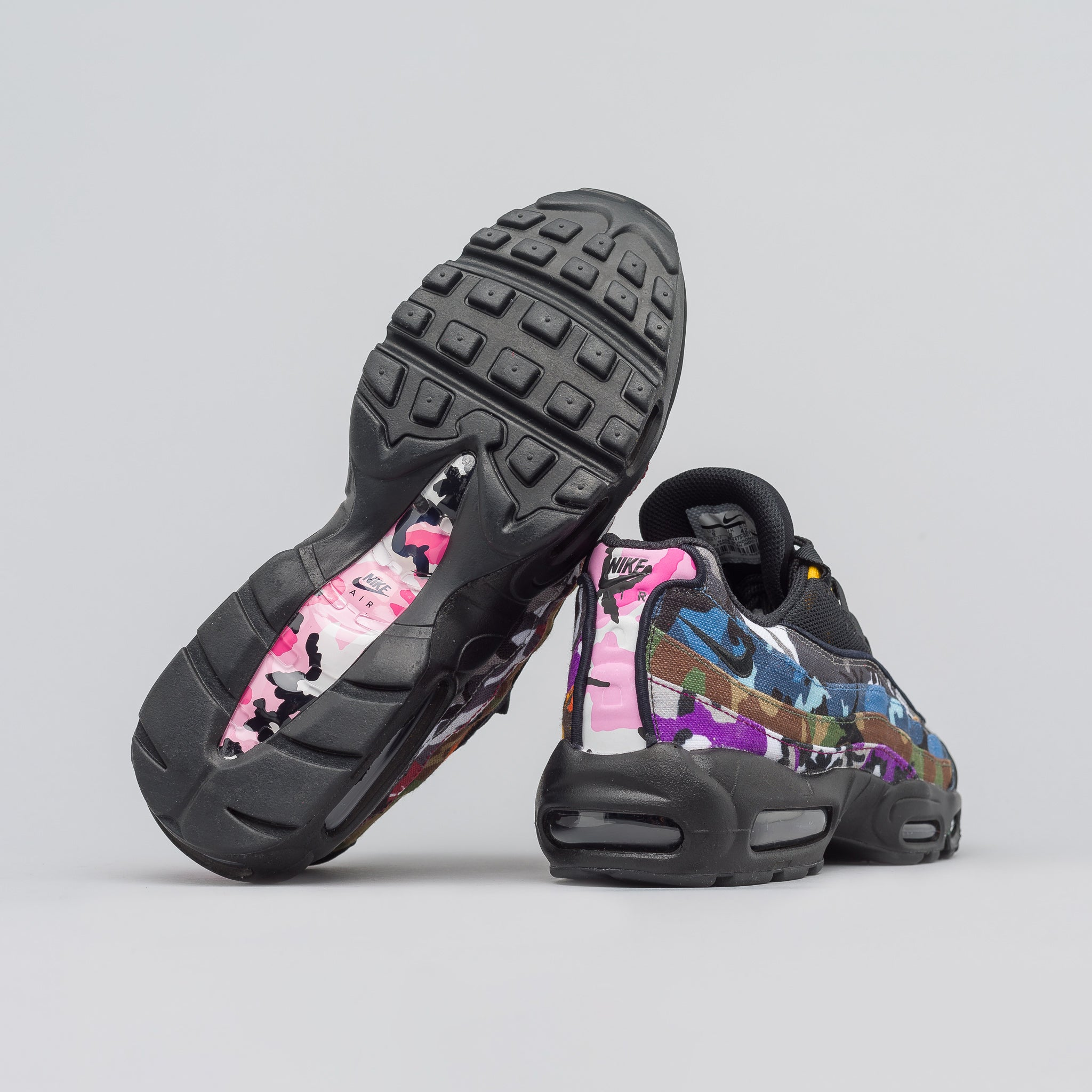 Nike Air Max 95 ERDL Party in Black Camo  97e23856a