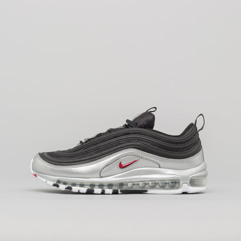Nike Air Max 97 QS in Black/Silver - Notre