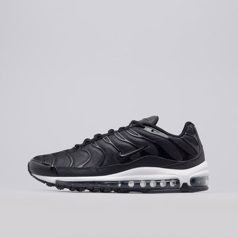 Nike Air Max 97 Plus in Black/Anthracite - Notre