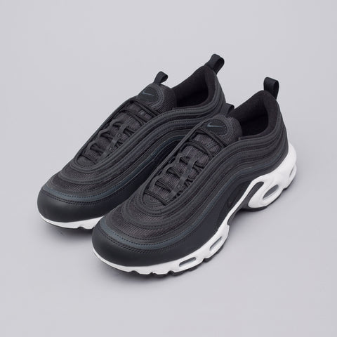 Nike Air Max 97 Plus Hybrid in Black/Anthracite - Notre