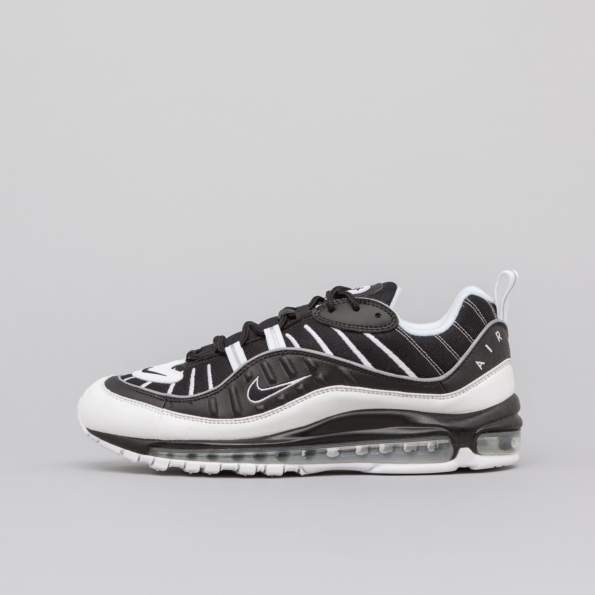 Air Max 98 in Black White Reflective Silver · Nike a0662d89c
