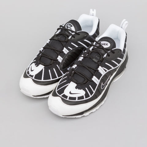 Nike Air Max 98 in Black/White Reflective Silver - Notre