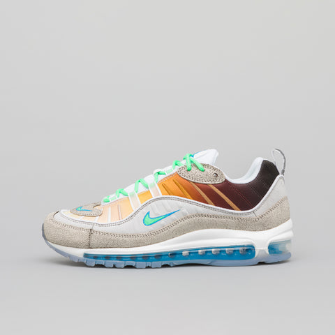Nike x On Air Gabrielle Serrano Air Max 98 in Grey/Green - Notre