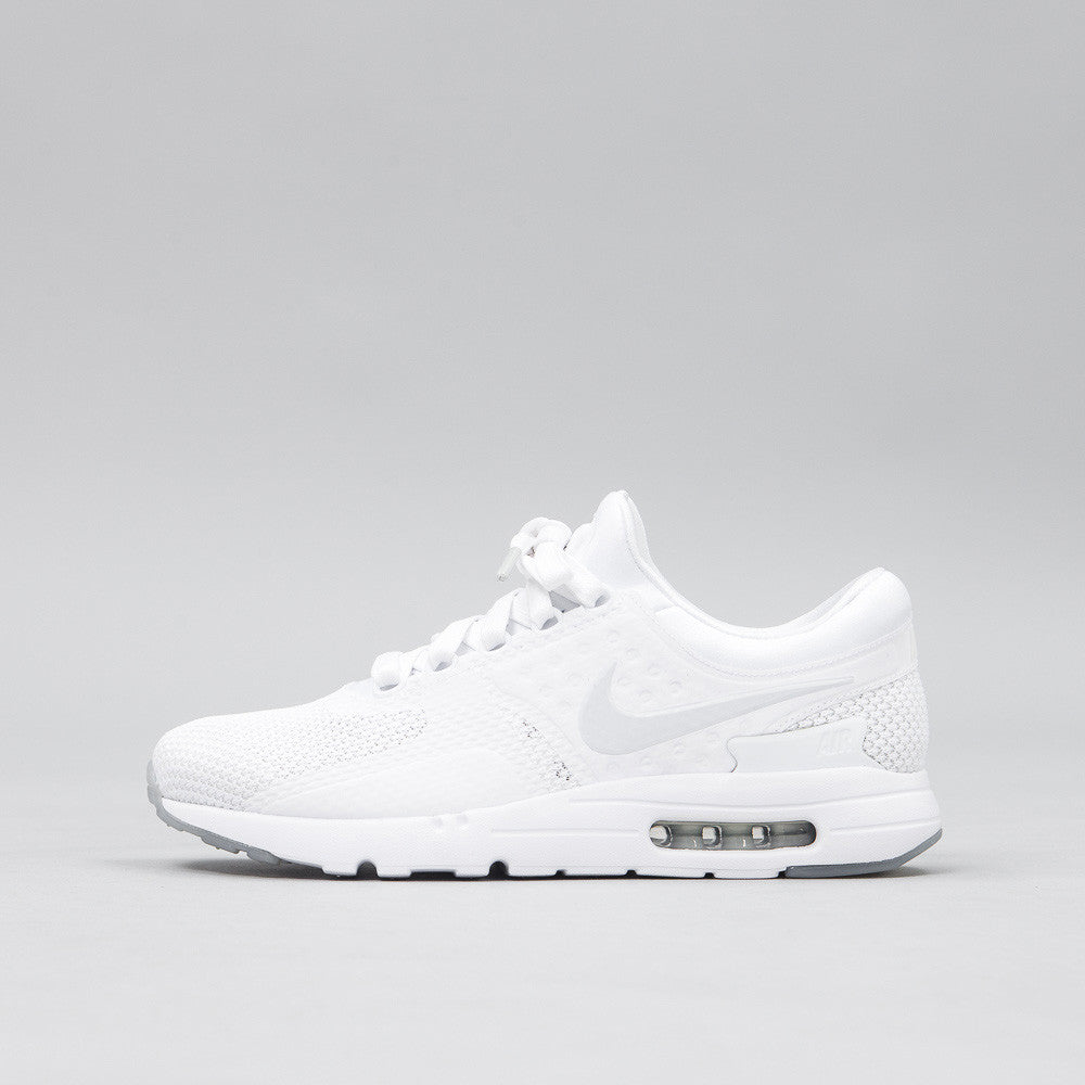 Nike - Air Max Zero QS in White - Notre - 1