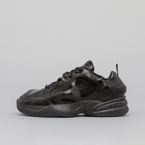 NikeLab x Martine Rose Air Monarch IV in Black - Notre