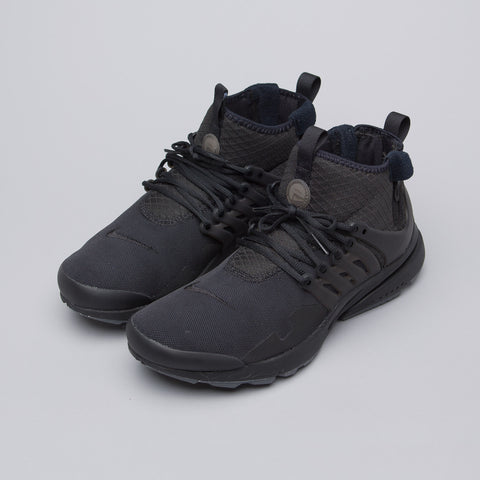 Nike Air Presto Mid Utility in Black - Notre