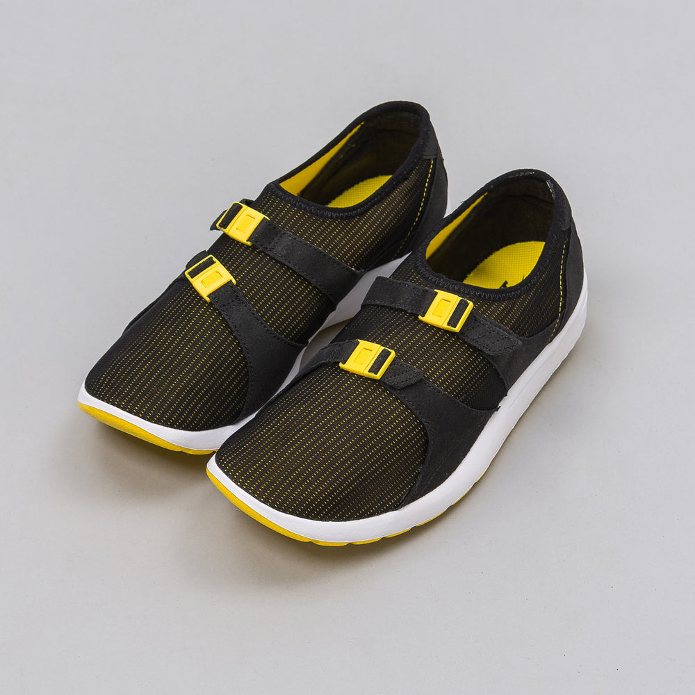 Nike Air Sock Racer OG in Black/Tour Yellow - Notre