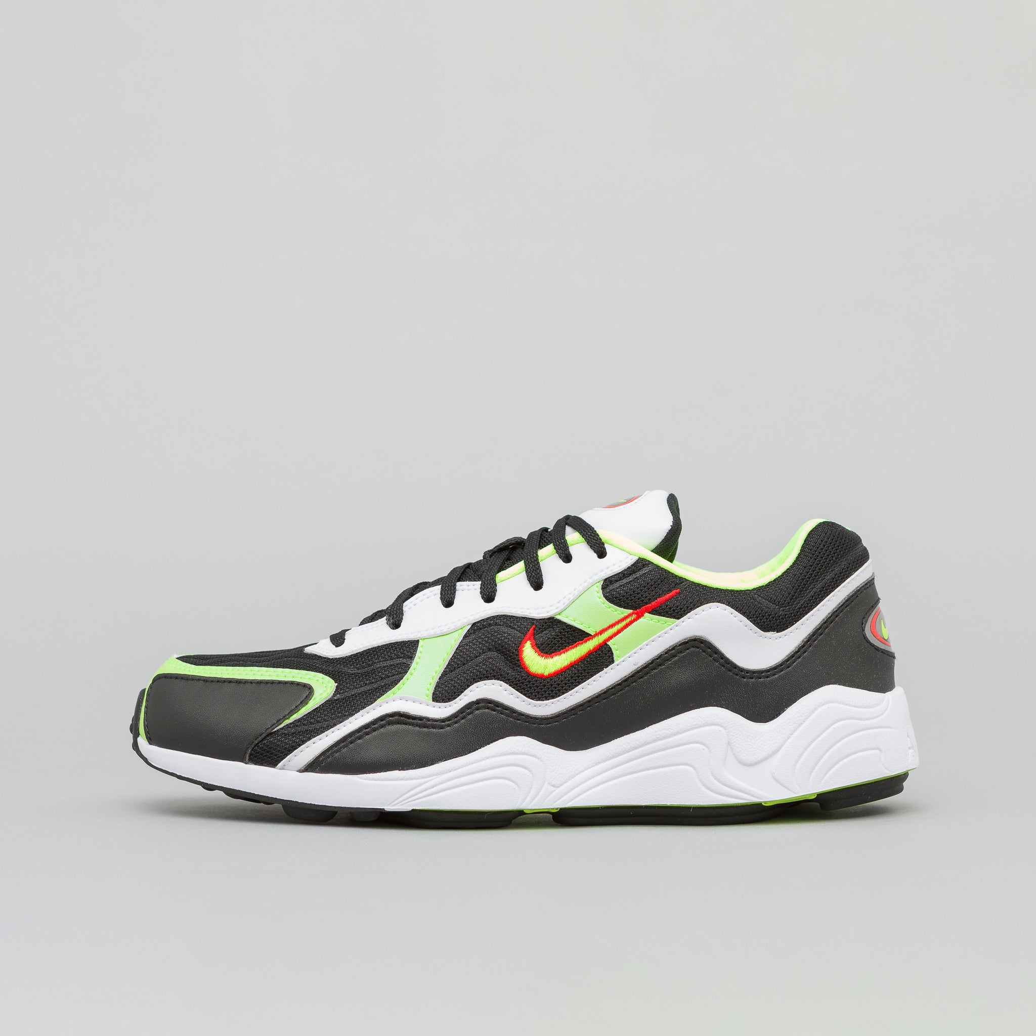 check out 982ab 1115e Air Zoom Alpha in Black Volt-Habanero Red White · Nike