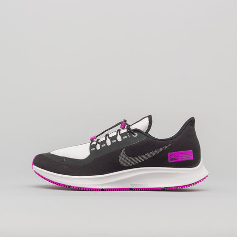 Nike Air Zoom Pegasus Shield NRG in Black/Silver/Violet - Notre