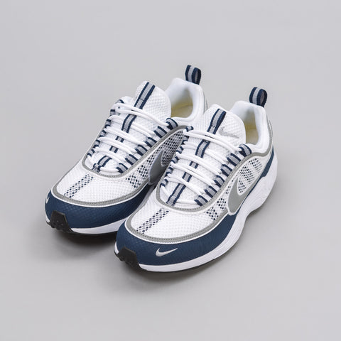 Nike NikeLab Air Zoom Spiridon in White/Silver/Midnight - Notre