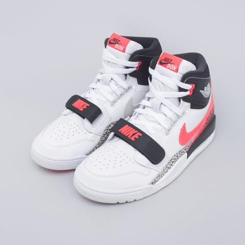 Jordan Air Jordan Legacy 312 in White/Lava - Notre