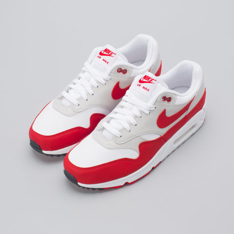 Nike Air Max 90/1 in University Red/Grey - Notre
