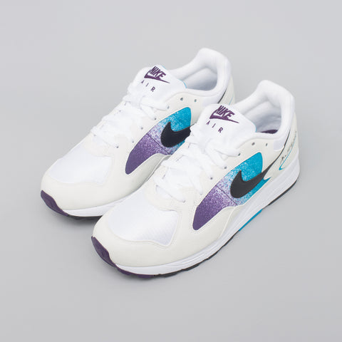 Nike Air Skylon II in White/Blue Lagoon - Notre