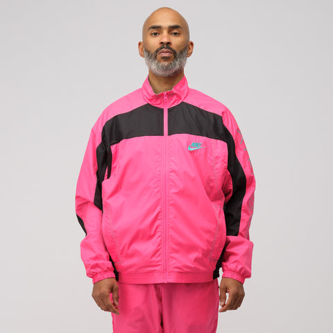 Nike x Atmos Track Jacket in Pink/Black - Notre