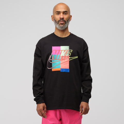 Nike x Atmos Long Sleeve T-Shirt in Black - Notre