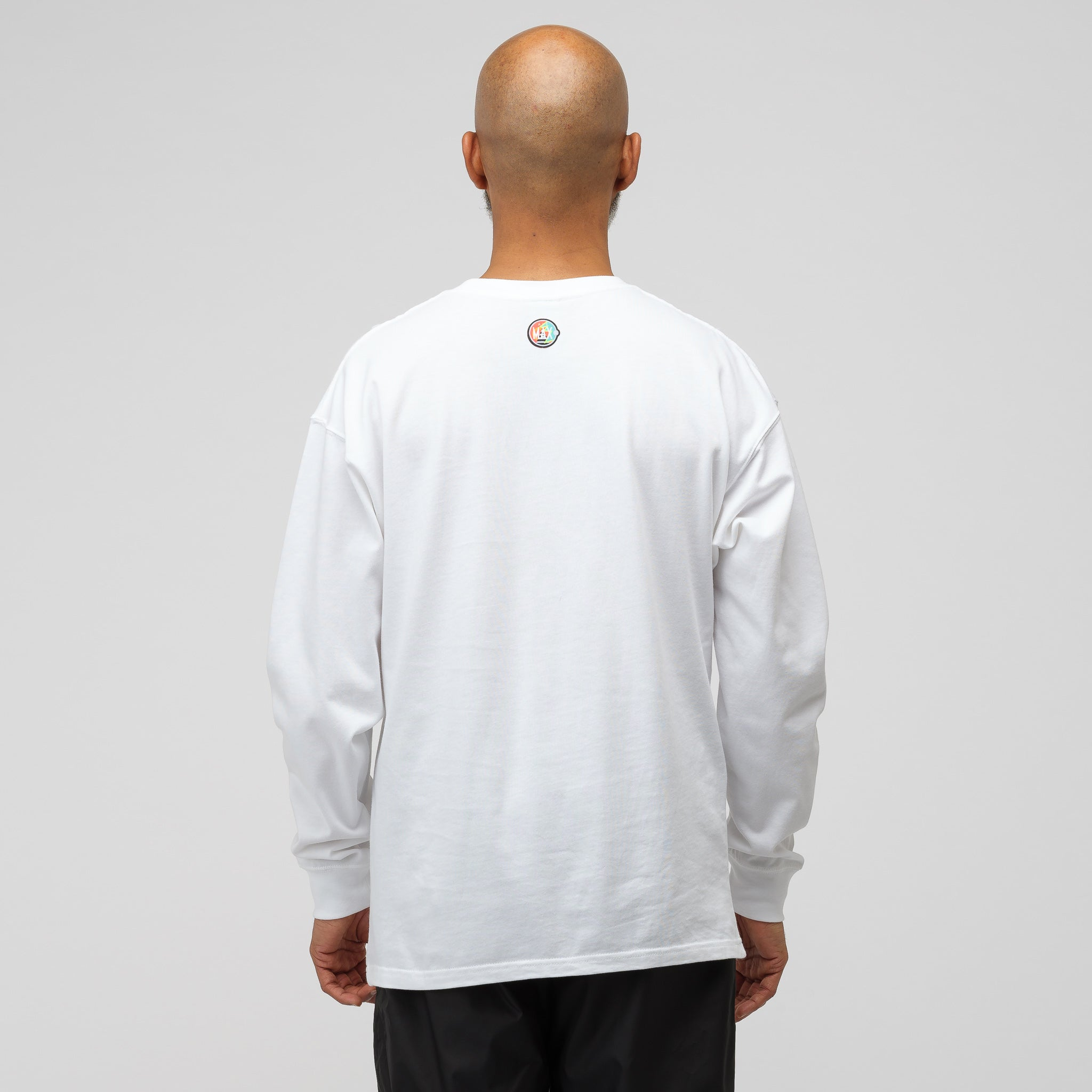 x Atmos Long Sleeve T-Shirt in White