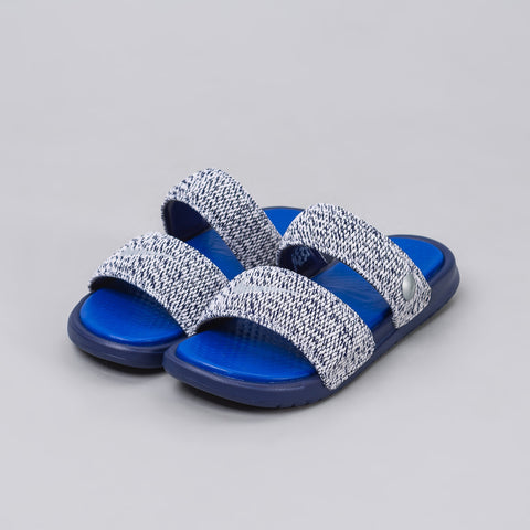 Nike Nikelab x Pigalle Benassi Duo Ultra Slide in Loyal Blue - Notre