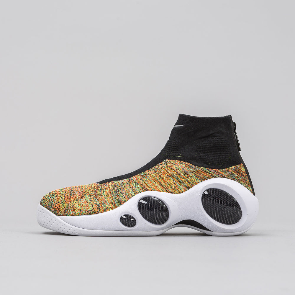 Nike Flight Bonafide in Black/White/Hyper Crimson - Notre
