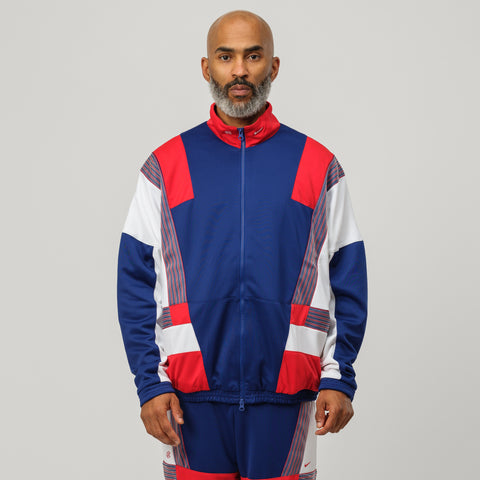Nike x CLOT Track Suit in Red/White/Blue - Notre