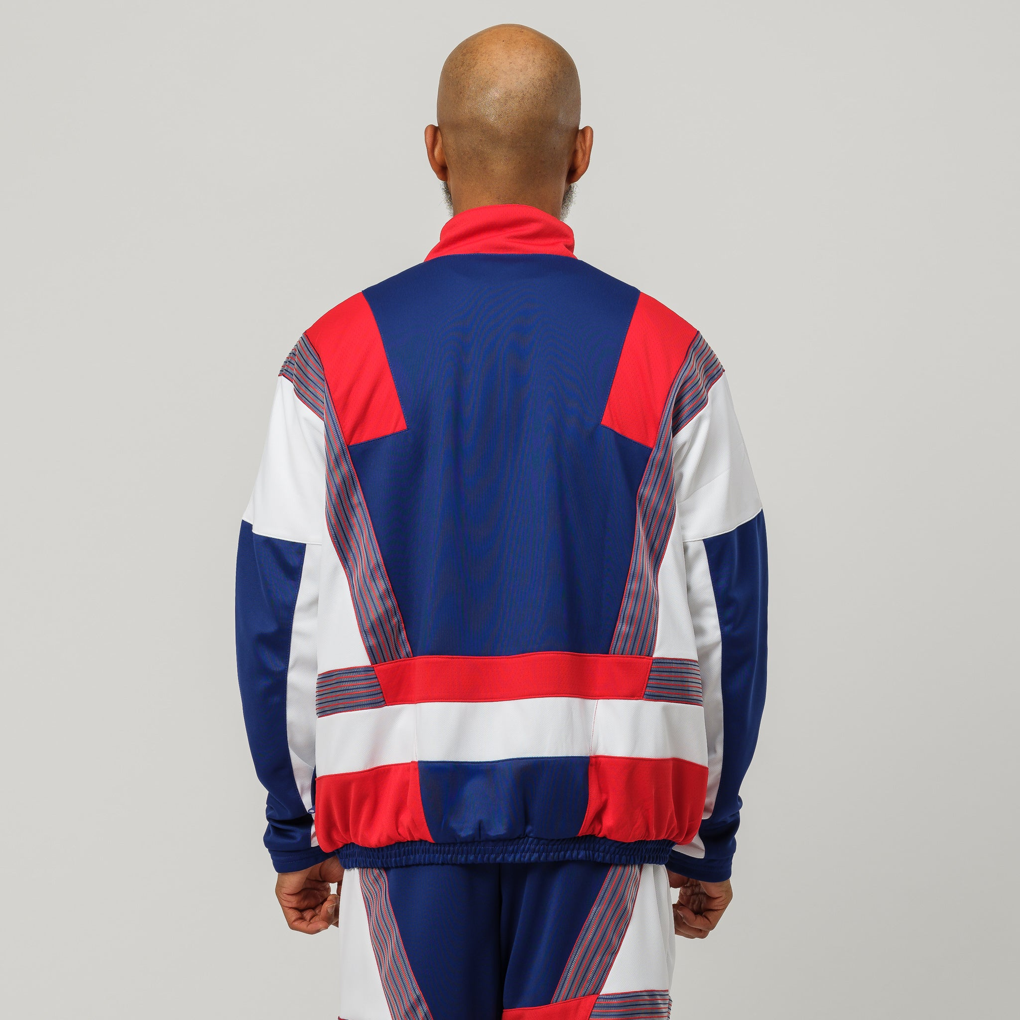 x CLOT Track Suit in Red/White/Blue