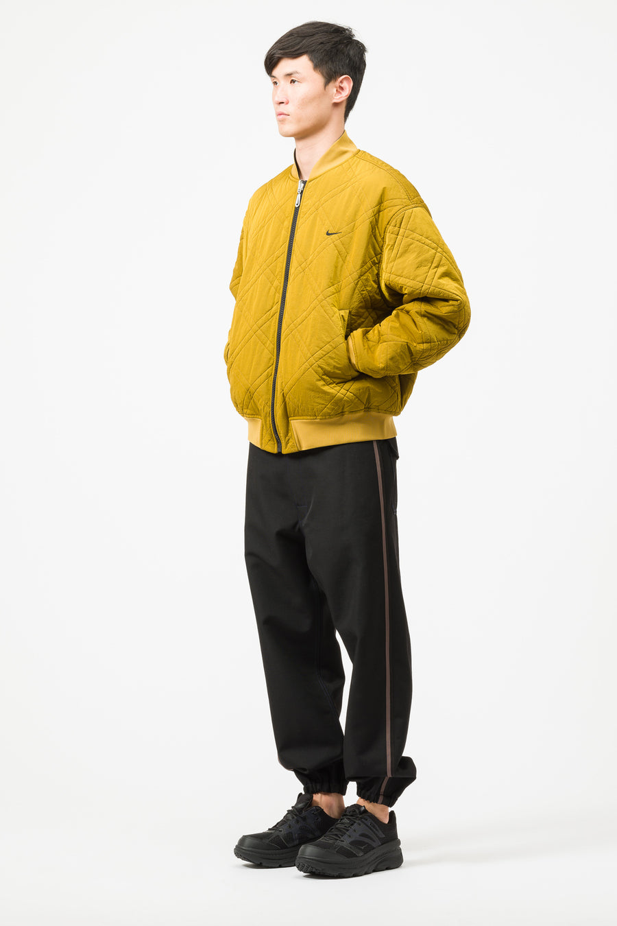Nike Classic x Sport Jacket in Dark Sulfur/Black - Notre