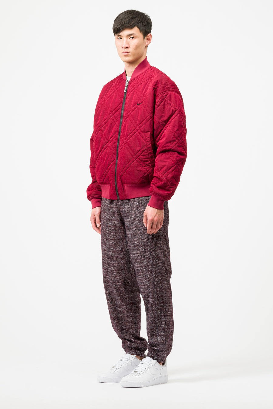 Nike Classic x Sport Jacket in Red/Black - Notre