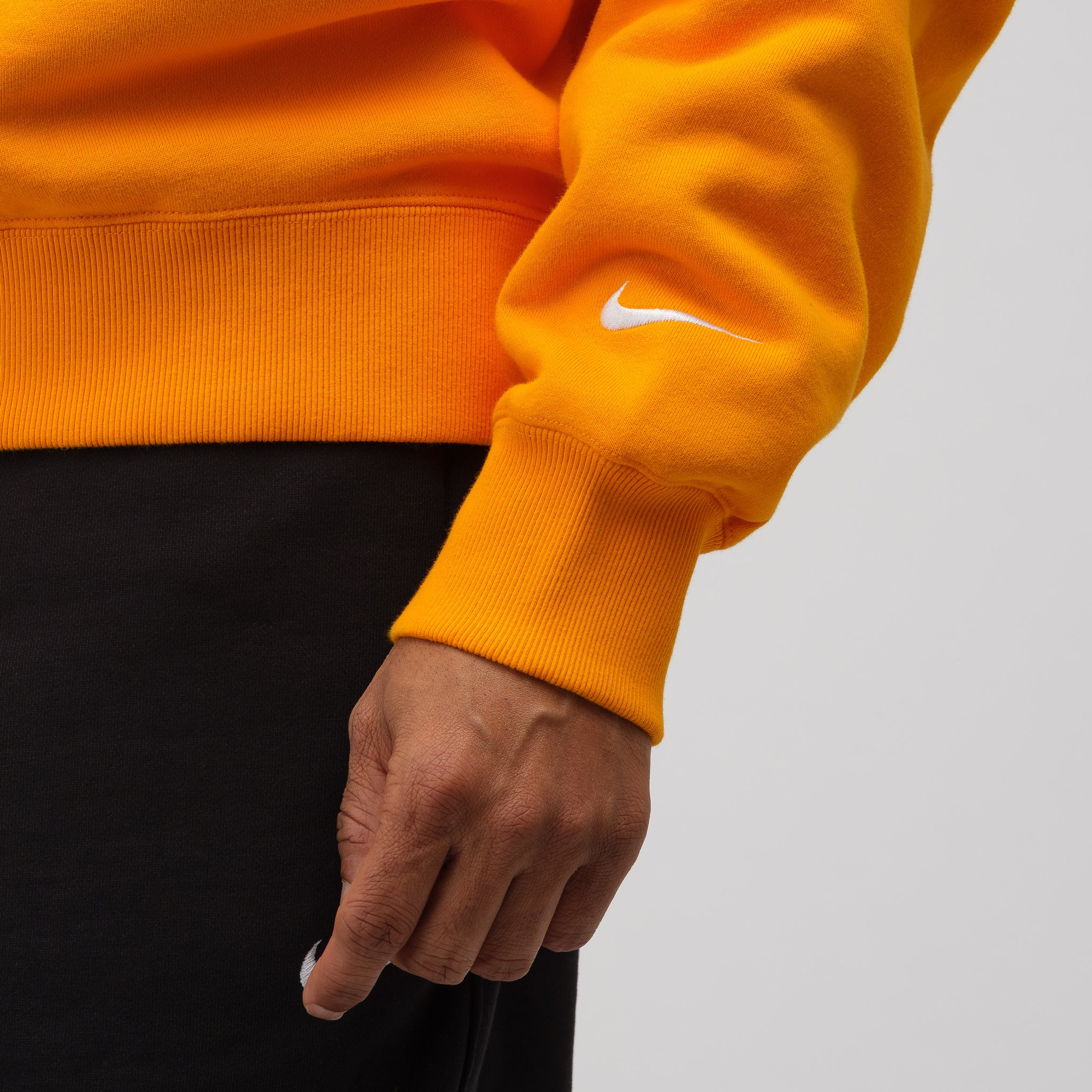 Crewneck Sweatshirt in Orange Peel