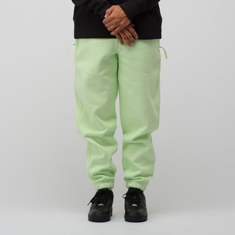 NikeLab Fleece Pants in Barely Volt - Notre