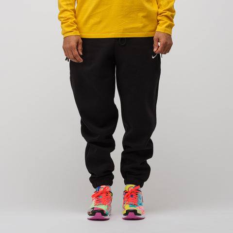 NikeLab Fleece Pants in Black - Notre