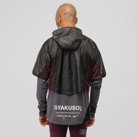 NikeLab Gyakusou Transform Jacket in Midnight Fog - Notre