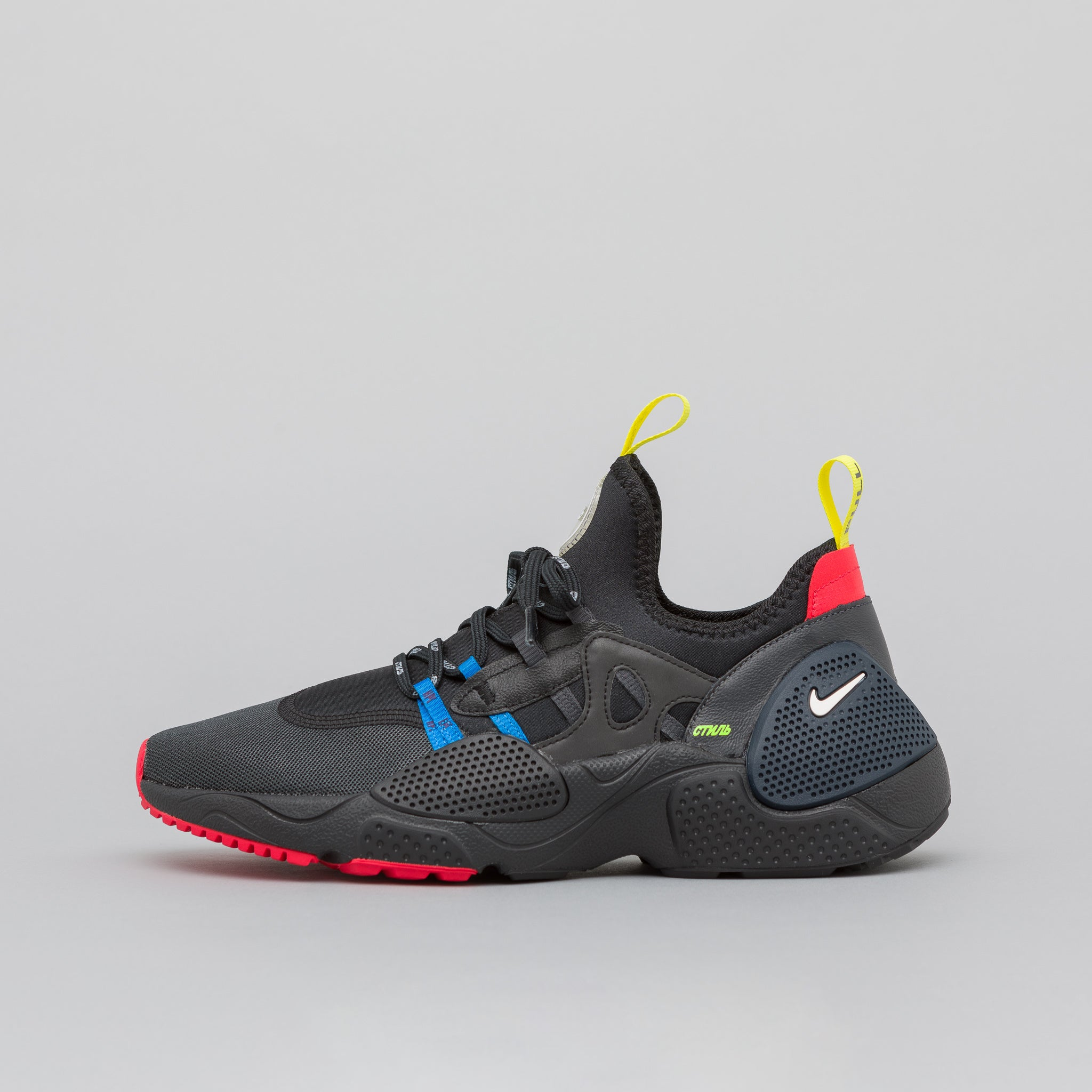 uk availability 61d6f b9035 x Heron Preston Huarache E.D.G.E. in Black
