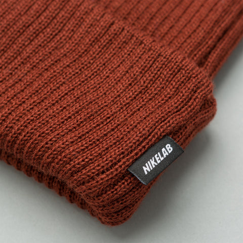 NikeLab Essentials Beanie in Pueblo Brown - Notre