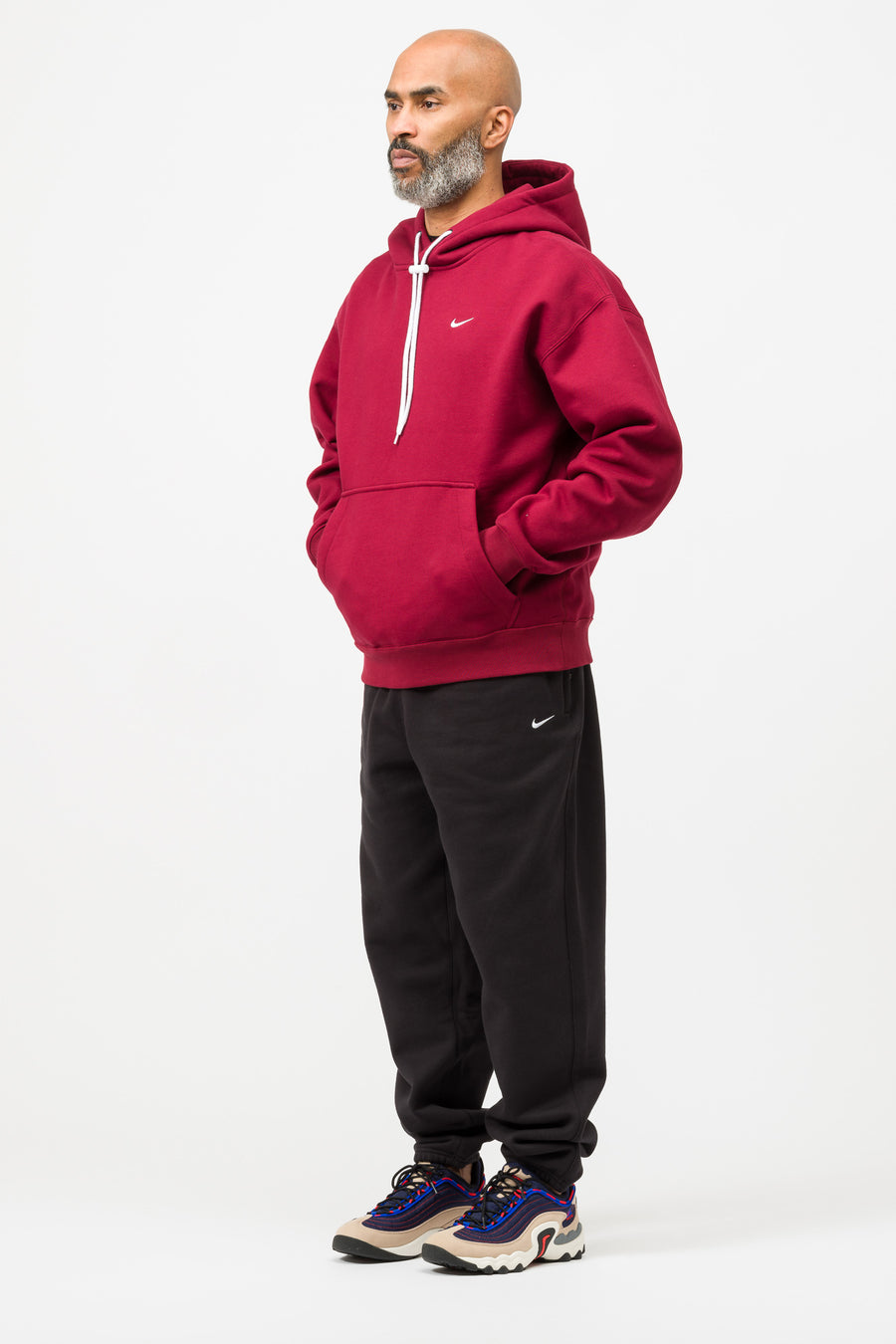 Nike Hoodie in Team Red - Notre