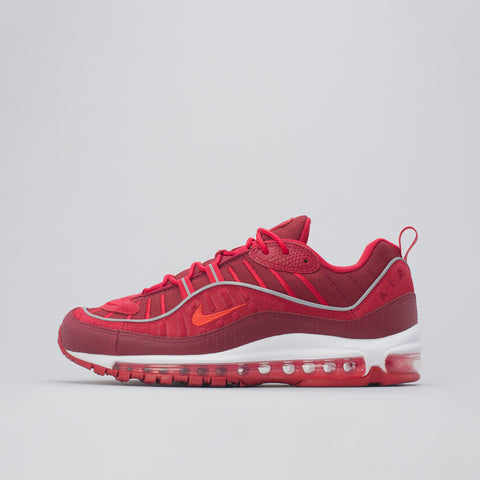 Nike Air Max 98 SE in Team Red/Habanero - Notre