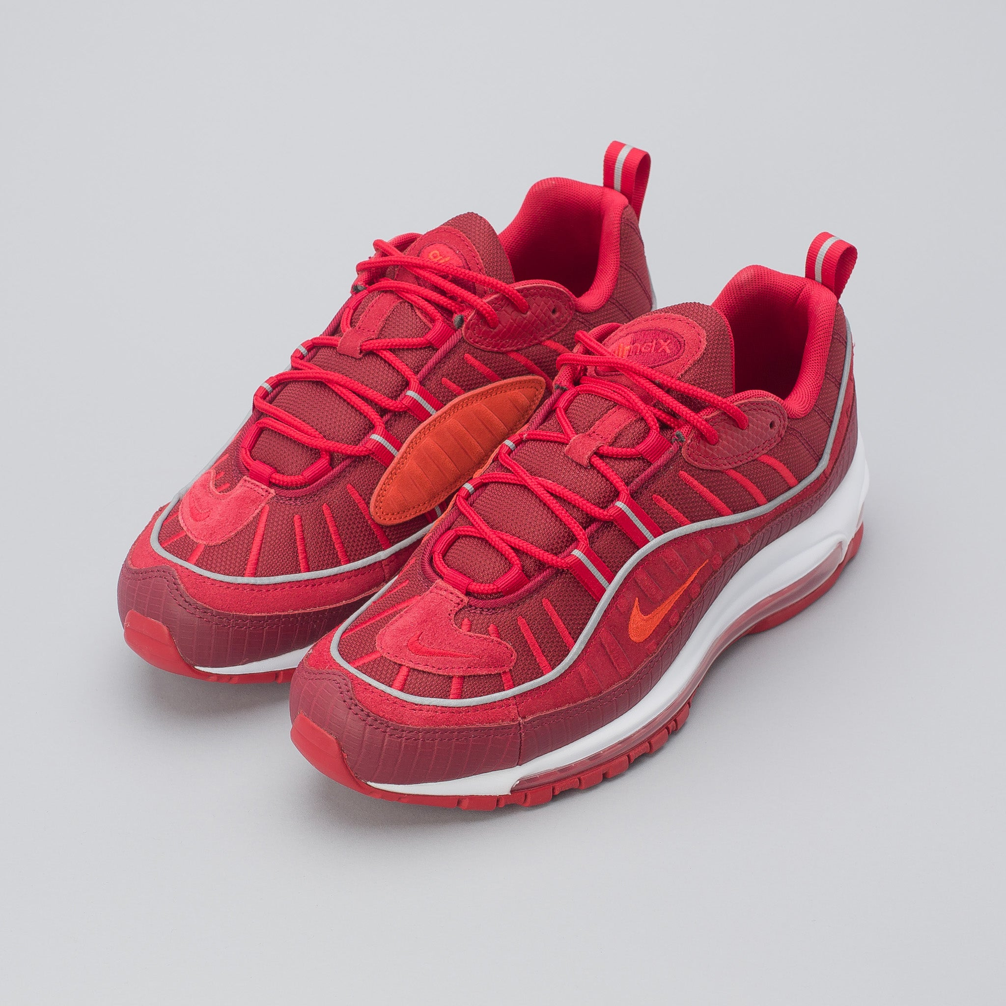best website 4fffe 30e79 ... how to buy Air Max 98 SE in Team RedHabanero ...