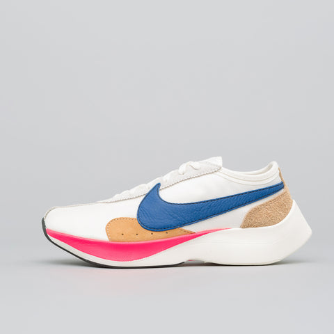 Nike Moon Racer QS in Sail/Gym Blue - Notre