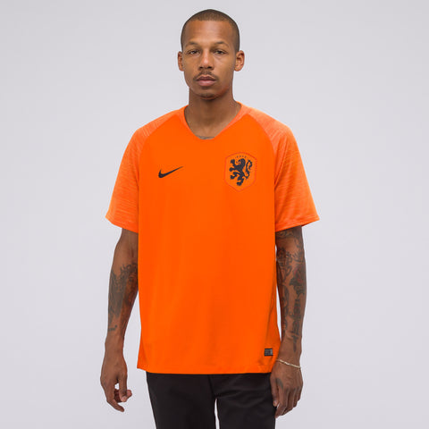 Nike Netherlands Stadium Home Jersey in White/Orange - Notre