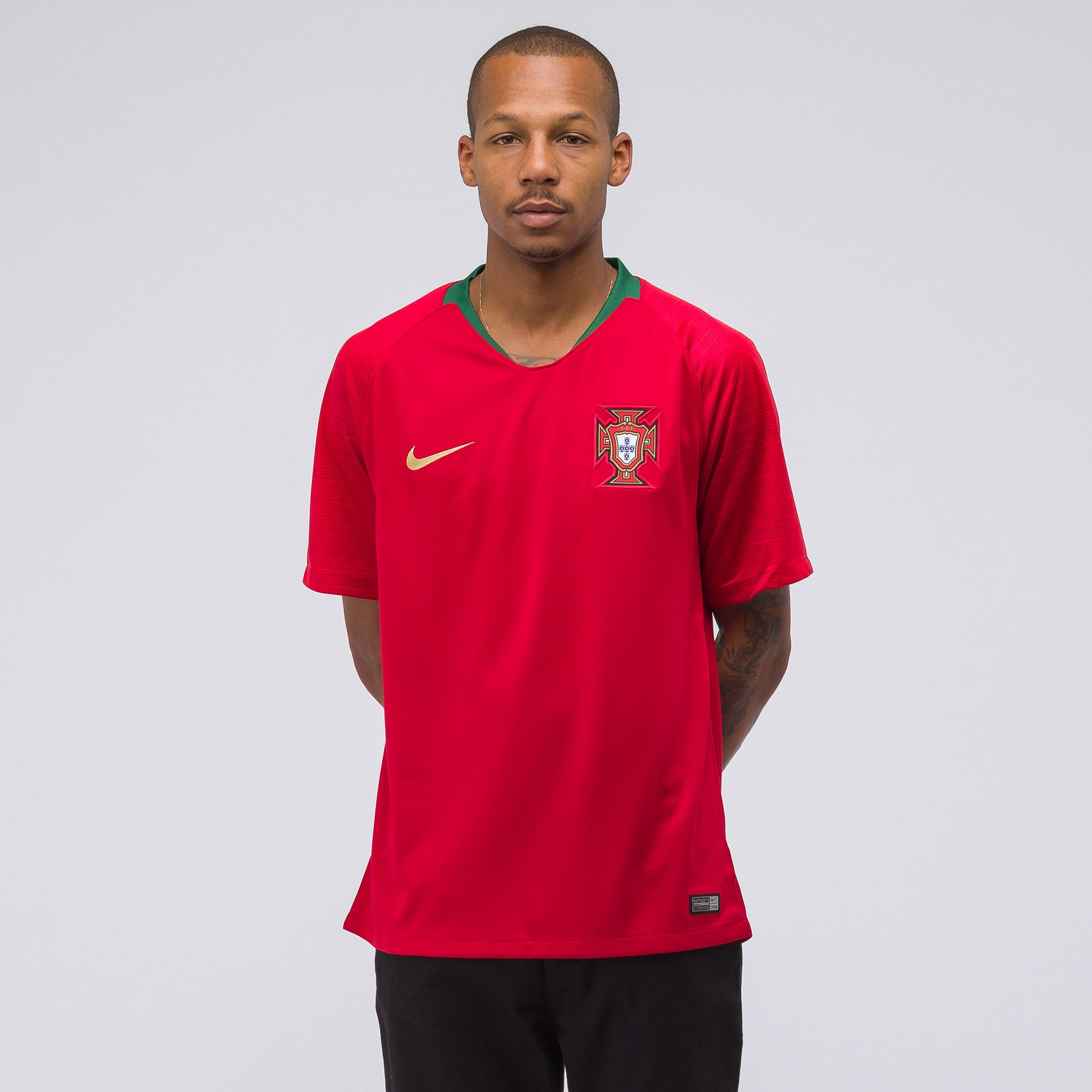 Portugal Home Stadium Jersey in Red